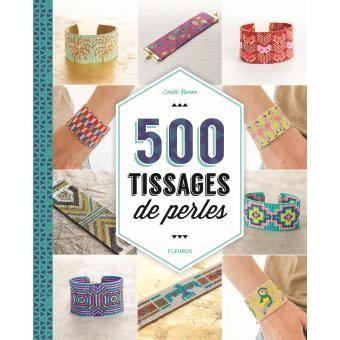 ♠ Livre avec 500 diagrammes (Delica 11/0) pour tissage au métier ♠