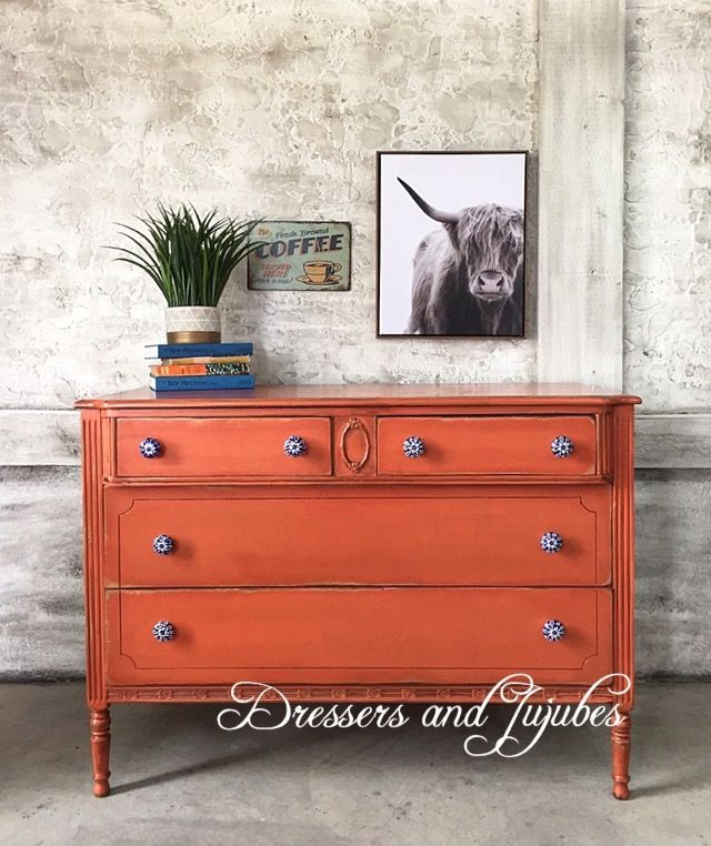 General Finishes Orange Furniture Design Wooden Refinishing Furniture Flipping Furniture