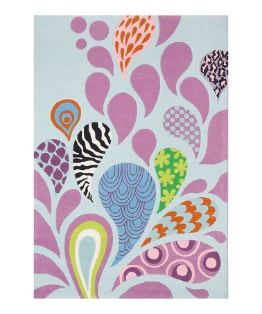 Love this Mod Paisley Rug on #zulily! #zulilyfinds