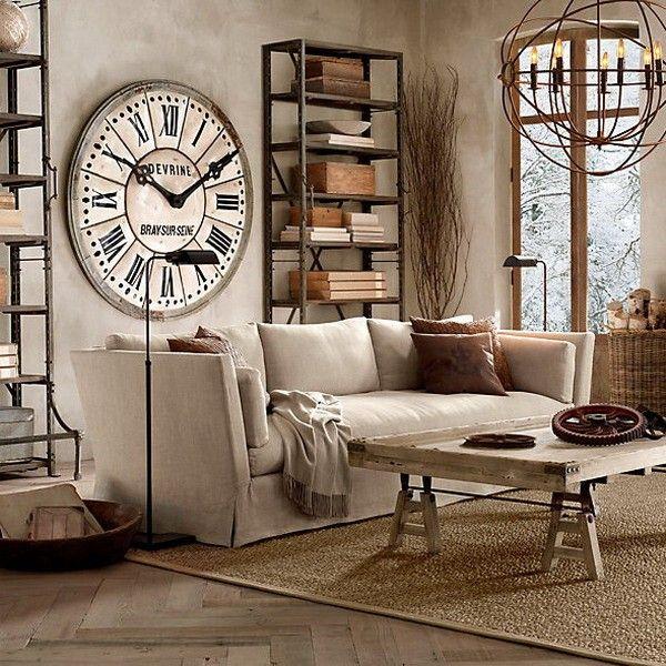 часы настенные большие оригинальные для гостиной белые
