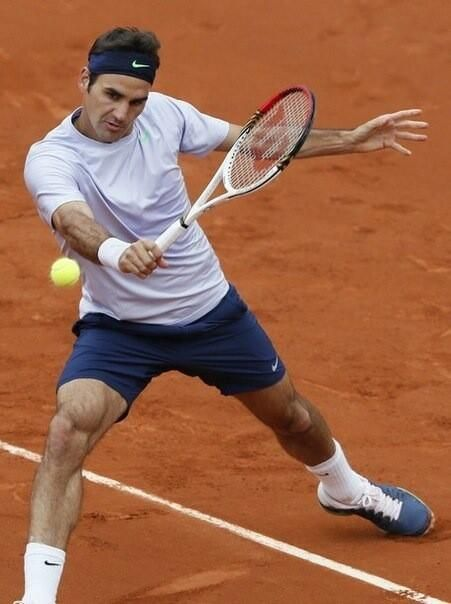 Roger // French Open just started, folks! Can't wait to watch some great tennis.