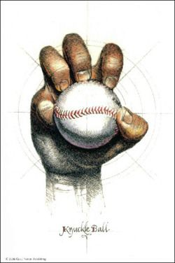 """Knuckle Ball"" Baseball Print...buy @ http://www.everythingbaseballcatalog.com/homedecor.html"