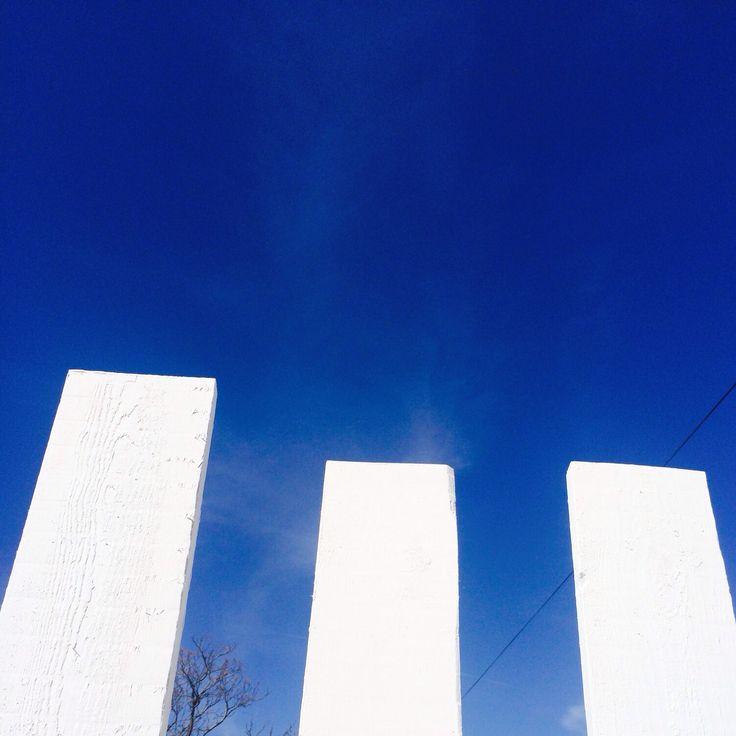 Witte planken voor de schutting! #wit