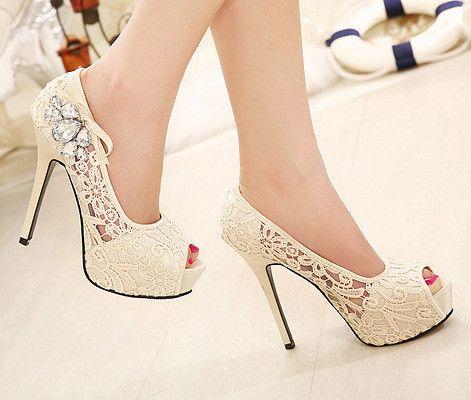 $33.00 | Diamond Sexy High Heels SC728DC