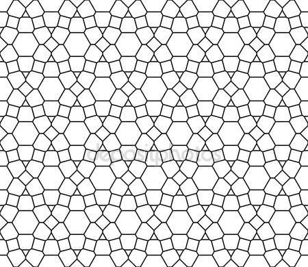 Vektör modern sorunsuz kutsal geometri model, siyah ve beyaz soyut geometrik arka plan, modaya uygun yazıcı, tek renkli retro doku, hippi moda tasarımı — Stok Vektör