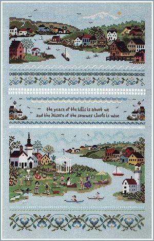 The Victoria Sampler - Cross Stitch Patterns & Kits (Page 2) - 123Stitch.com