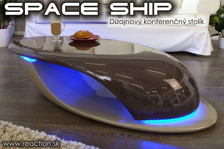 Luxusný nábytok REACTION: Dizajnový konferenčý stolík