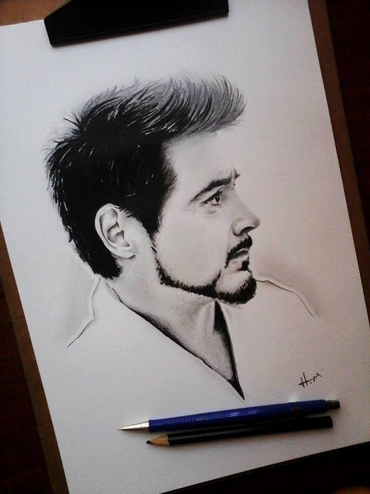 Robert Downey jr by HM