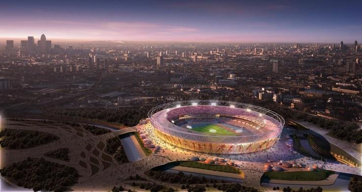 Visualization of the Olympic Stadium © www.london2012.com
