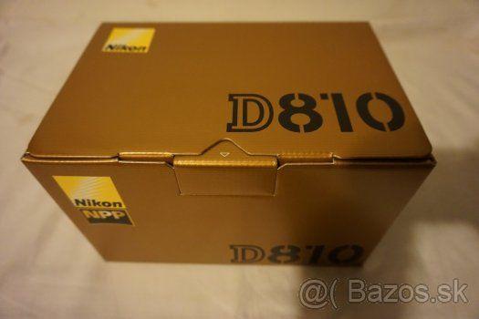 Nikon D 810 - 1