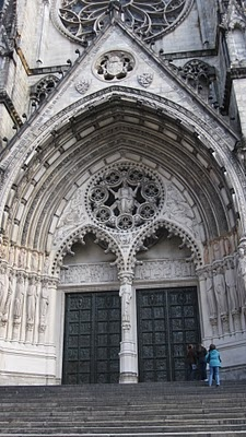 Cathedral of St. John the Divine, NYC, at 110-113th streets in Morningside Heights, NYC - it's the largest gothic cathedral in North America!