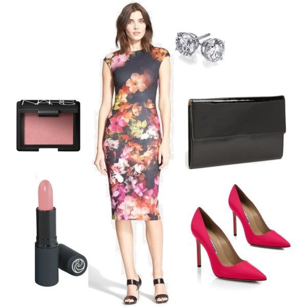 Stylist Tips for a Stylish and Sexy Valentine's Day   Valentine's Day Floral Printed Dress http://effortlesstyle.com/stylist-tips-stylish-sexy-valentines-day/