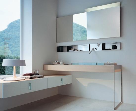 modern architecture - interior view - bathroom - agape design