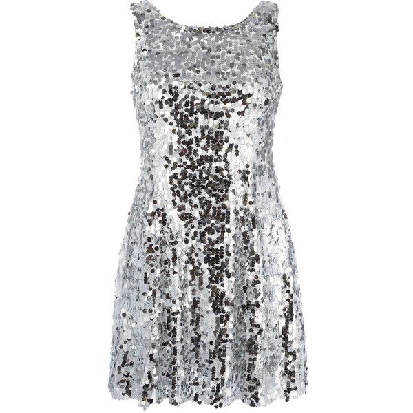 Dolce & Gabbana Sequin Short Dress ($2,445) ❤ liked on Polyvore featuring dresses, embroidered cocktail dress, sequin dress, sleeveless dress, sequin mini dress and zip back dress