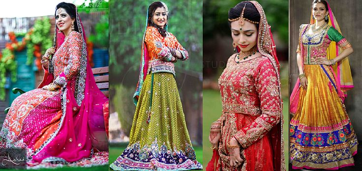 Indian & Pakistani Ghagra Choli Designs Collection 2016-2017