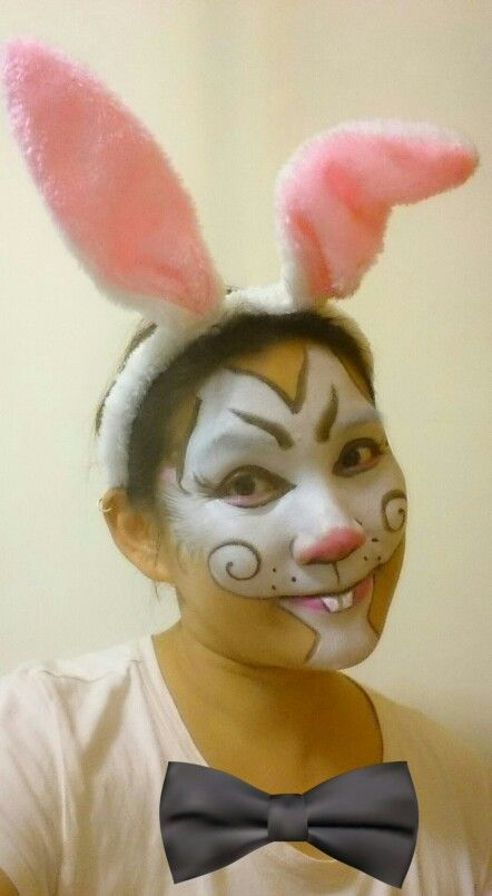 Face painting- bunny
