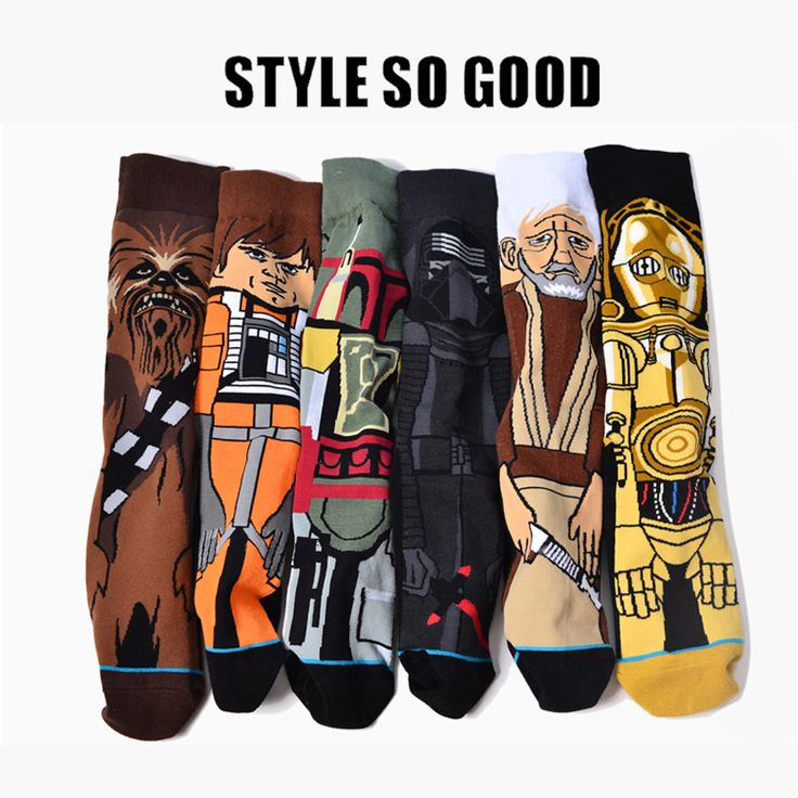 Cheap Socks, Buy Directly from China Suppliers: New Autumn And Winter Cartoon Funny Men Socks 2017 Sale Hot Star Wars Stockings Planet Battle Vader Socks