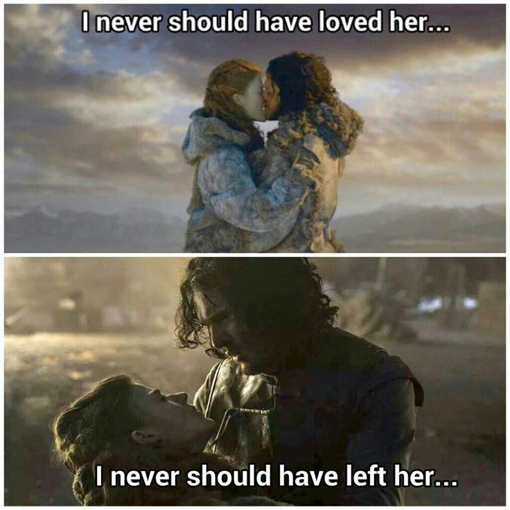 """Love is the death of duty"" and I'm not sure that is a bad thing. This scene was heartbreaking to watch!"