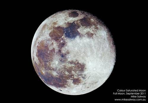 How To Create A Color-saturated #Moon Photo: By Amplifying