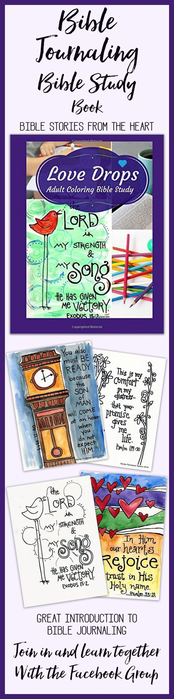 Another neat devotional coloring book from Leslie Eaton #Biblejournaling #coloring