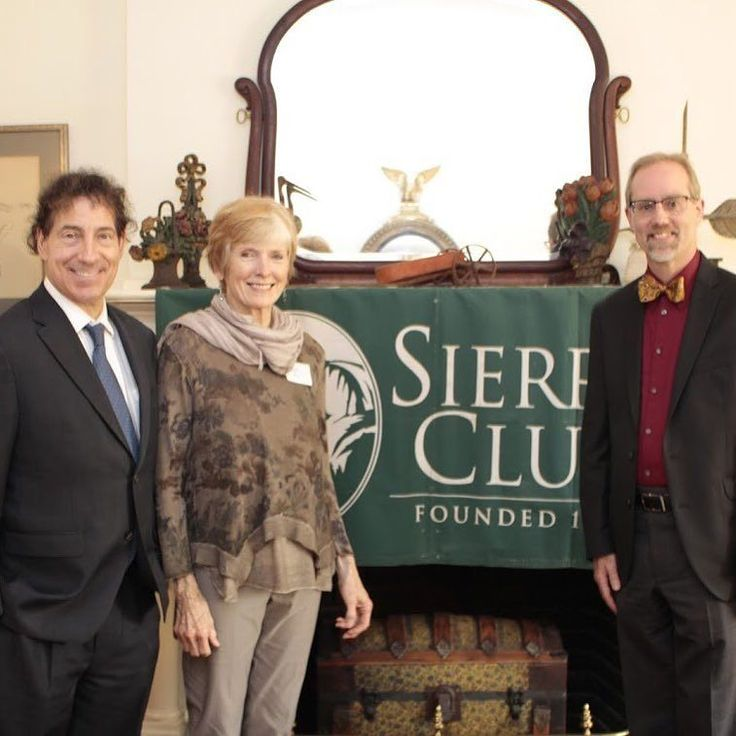 We need more environmental champions like these folks!  Congressman Jamie Raskin poses with newly elected Fredrick Mayor Michael OConnor and catoctin Sierra Club Political Chair kathleen Rall at fundraiser for the Maryland Sierra Club PAC.