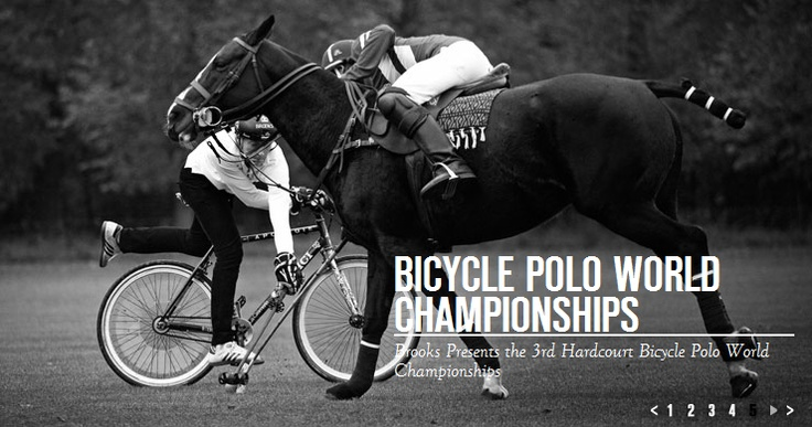 Bike Vs Horse Still Polo World Championship Bike Polo