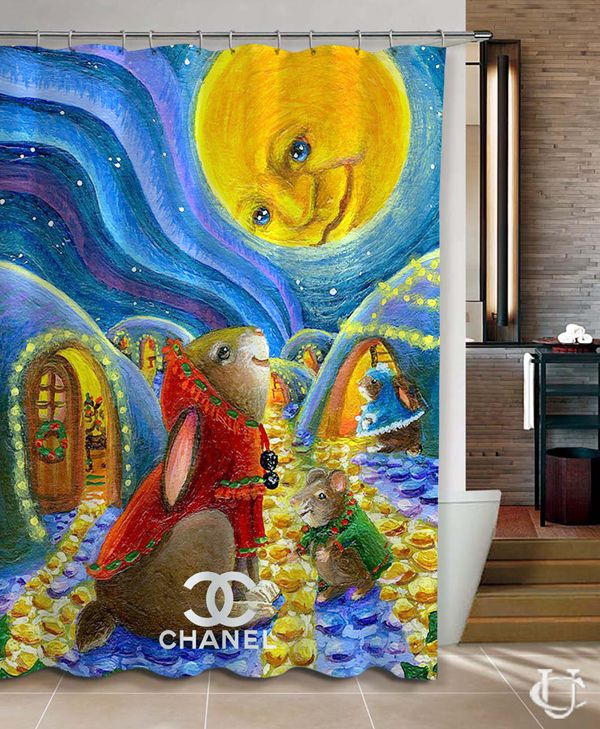 Christmas Chanel Rabbit Mouse Moon Aurora Christmas Winter Shower Curtain cheap and best quality. *100% money back guarantee #summer2017 #autumn2017 #fall2017 #summer #autumn #fall #shopmygoodies #disney #movie #HomeDecor #Home #Decor #Showercurtain #Shower #Curtain #Bathroom #Bath #Room #eBay #Amazon #New #Top #Hot #Best #Bestselling #HomeLiving #Print #On #Printon #Fashion #Trending #Woman #Man #Teenager #Cheap #Rare #Limited #Edition #LimitedEdition #Unbranded #Generic #Custom #Design…