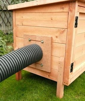 Outdoor Bunny Hutch
