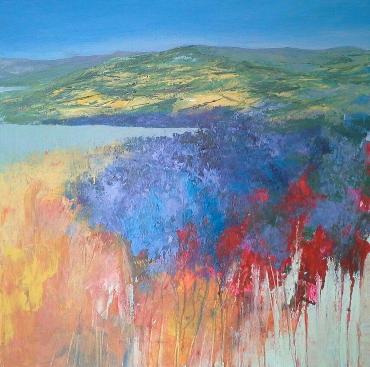 Da Macchia 50x50 cm Luigi Torre painter 2016
