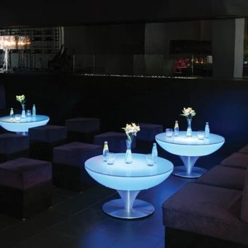 TABLE BASSE LED RECHARGEABLE