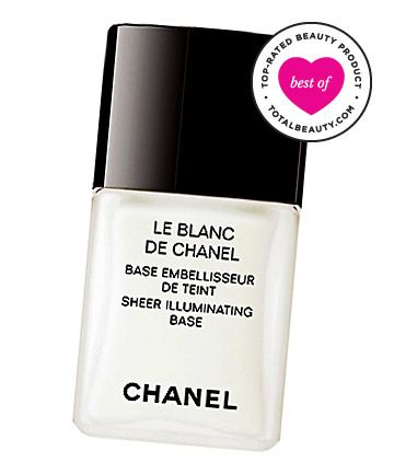 """Chanel Le Blanc De Chanel Sheer Illuminating Base, $45 TotalBeauty.com average member rating: 9.5*  Why it's great: """"It's amazing how a simple product can add juice to your normal makeup routine. It's simply perfect,"""" writes one reviewer. Another fan says this primer """"out does any other primer on the market."""" TotalBeauty.com reviewers say it enhances your makeup and adds radiance to your face. It may be a little on the pricey side, but one reviewer confidently says, """"it's well worth every…"""
