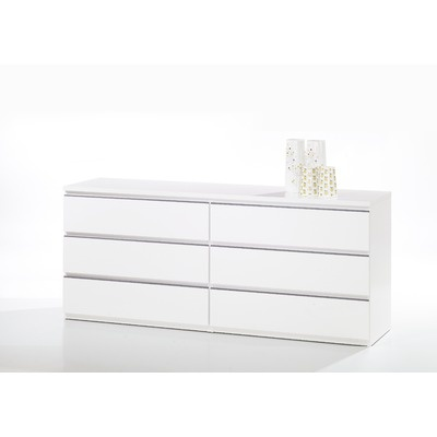 Tvilum Tucson Bedroom Double Dresser In White. Similar To IKEA Malm. We  Actually Got
