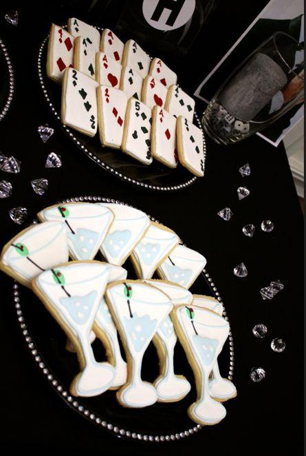 Sugar Cookies in James Bond Theme