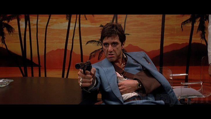 Tony Montana in 'Scarface