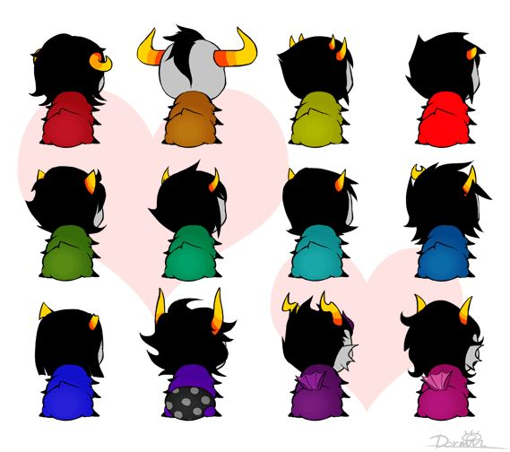 homestuck Wiggle grubs<== I almost think this was made during a hiatus