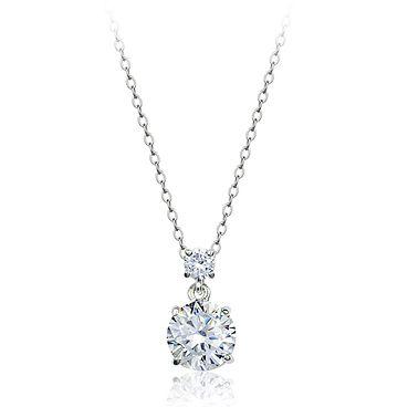 Мода циркон алмазный кулон ожерелье, ювелирные изделия с бриллиантами для женщин