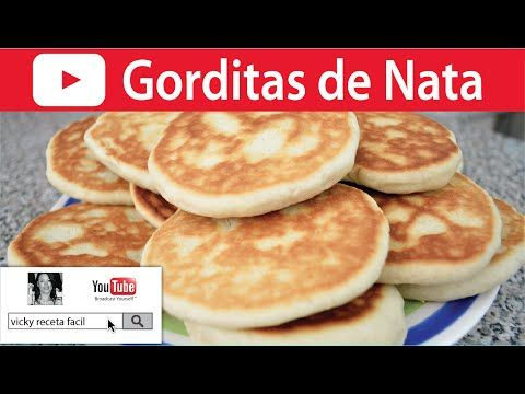 GORDITAS DE NATA | Vicky Receta Facil - YouTube