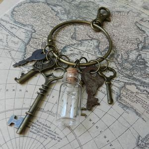 Image of Awesome Steampunk Keys Key-Chain Costume Accessory