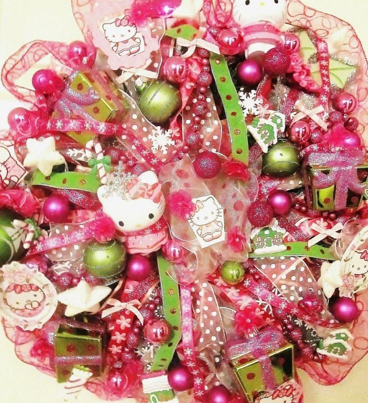 Hello Kitty wreath!