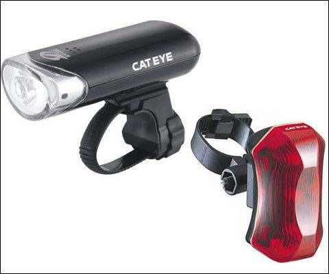 Cateye HL-EL130 w/ TL-LD170 Light Combo