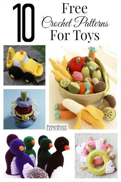 Crochet toy ideas