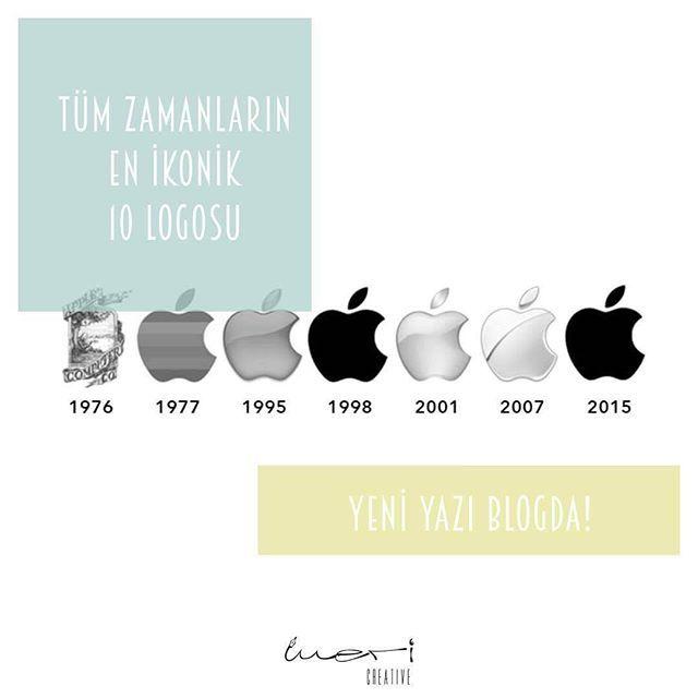 """""""""""Tüm Zamanların En İkonik 10 Logosu"""" Yeni Yazi Blogda! . . . #blog #blogger #logo #icon #nike #apple #google #cocacola #yazi #digitalmarketing #dijitalpazarlama #dijitalajans #kreatifajans #grafiktasarim #graphicdesign #branding #kurumsalkimlik #webdesig"""