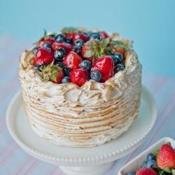 Berry Almond Crunch Cake    Great food gallery: www.tastespotting.com