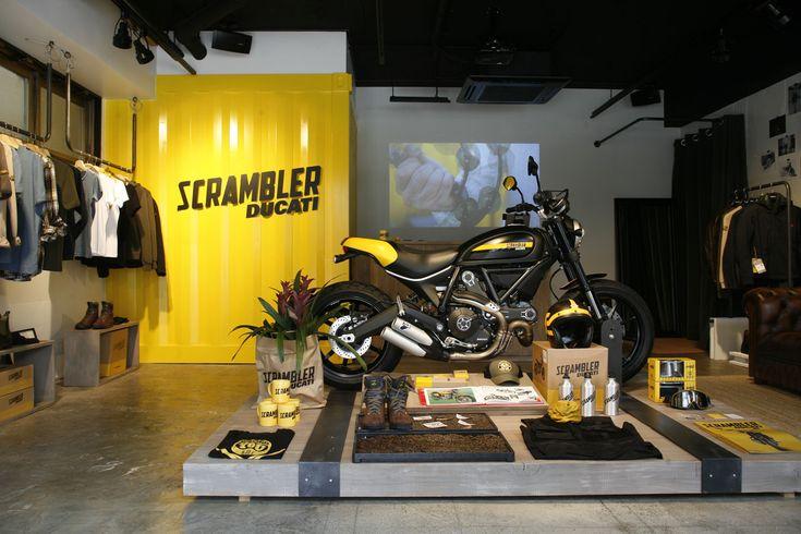 Ducati Scrambler showroom in Japan