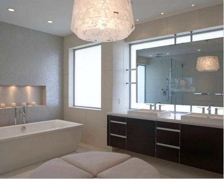 20 Bright Bathroom Mirror Designs With Lights Part 68