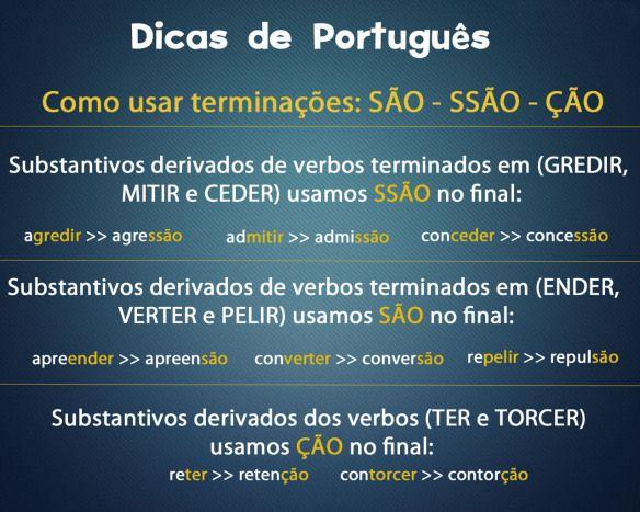 Dicas de português para não errar mais! #dicas #gramatica #ortografia #lingua #portugues #concursos #estudos