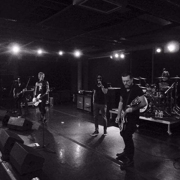 Kings of chaos rehearsal