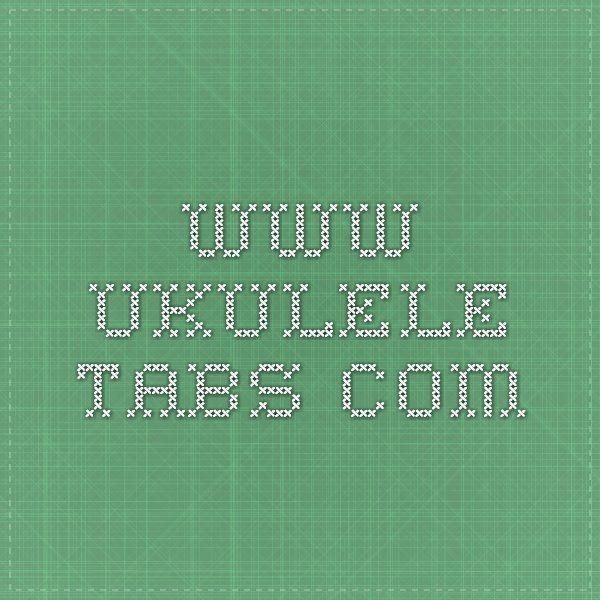 70 best Ukulele images on Pinterest | Ukulele songs, Ukulele tabs ...