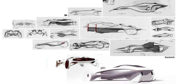 Audi Pforzheim Student Sketch