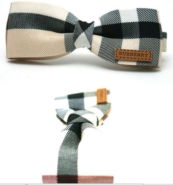 burberry bow hair pins  so pretty ^^
